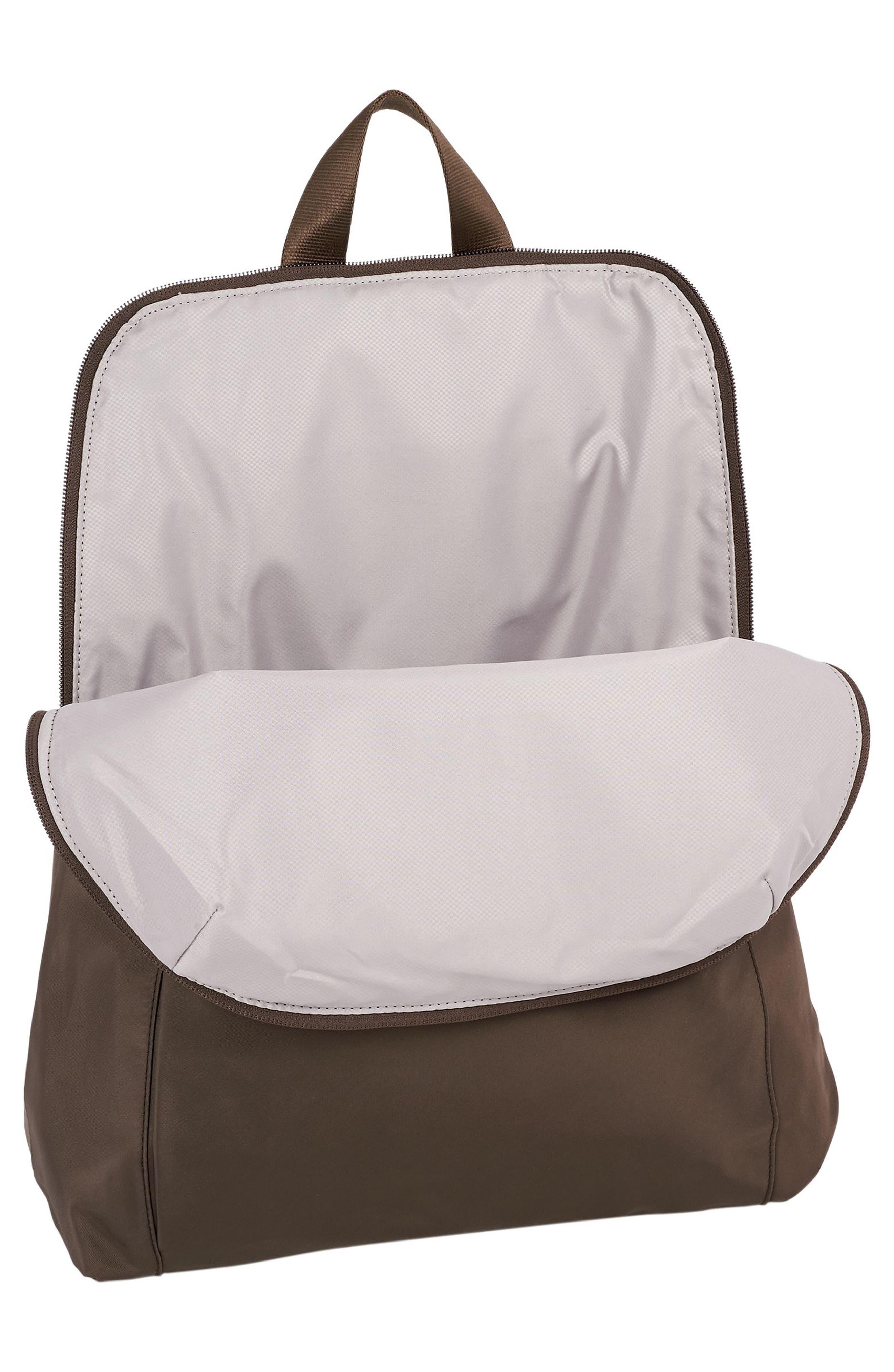,                             Voyageur - Just in Case Nylon Travel Backpack,                             Alternate thumbnail 4, color,                             MINK