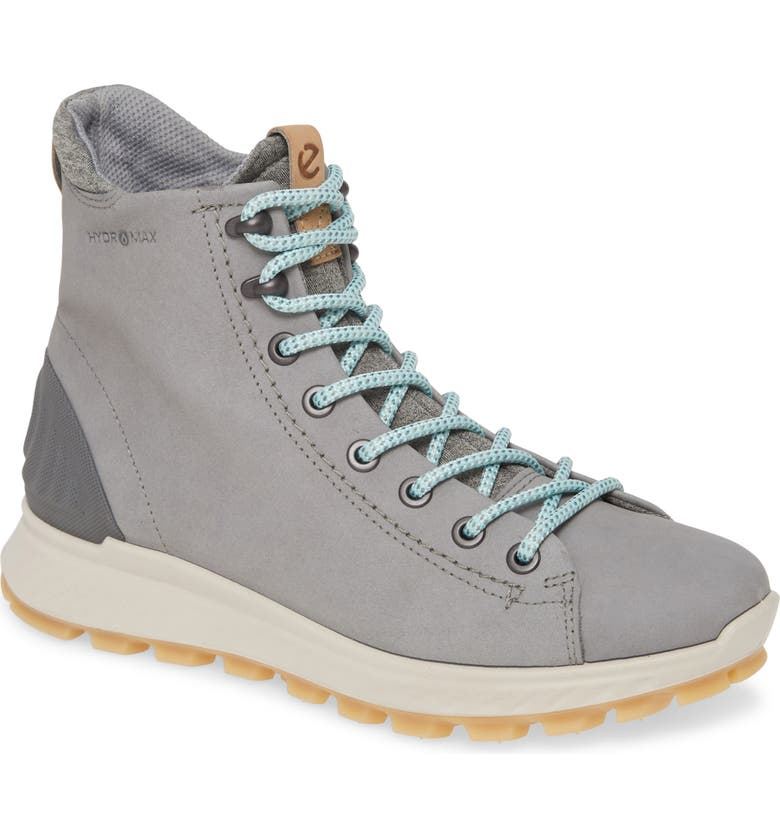 ECCO Exostrike HYDROMAX<sup>®</sup> Boot, Main, color, WILD DOVE NUBUCK LEATHER