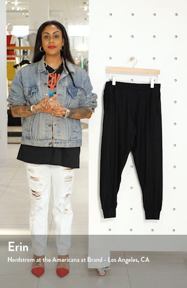 Silk Jogger Pants, sales video thumbnail