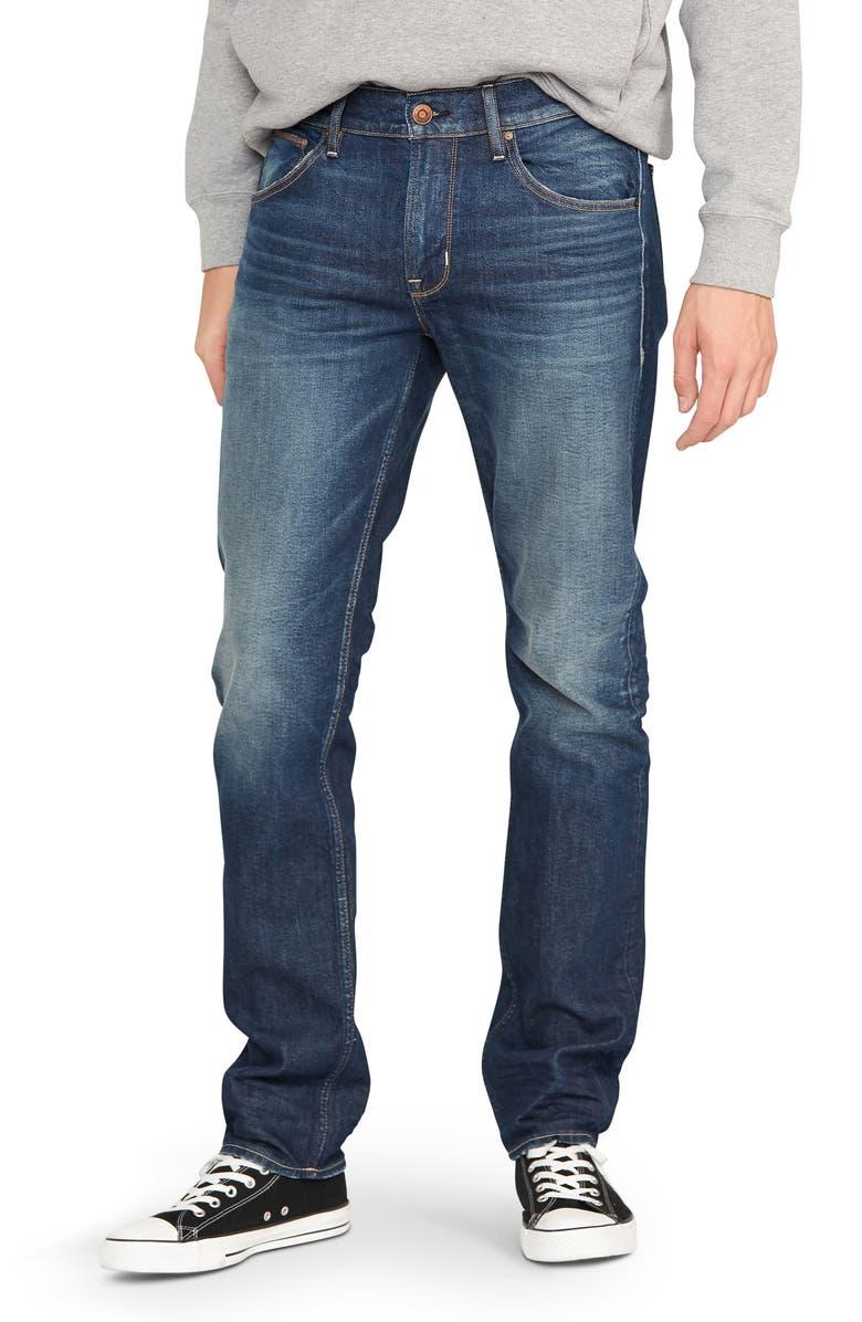 HUDSON JEANS Byron Slim Straight Leg Jeans, Main, color, TITLE