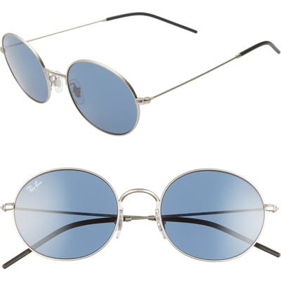 Ray-Ban 3m Round Sunglasses - Rubber Silver