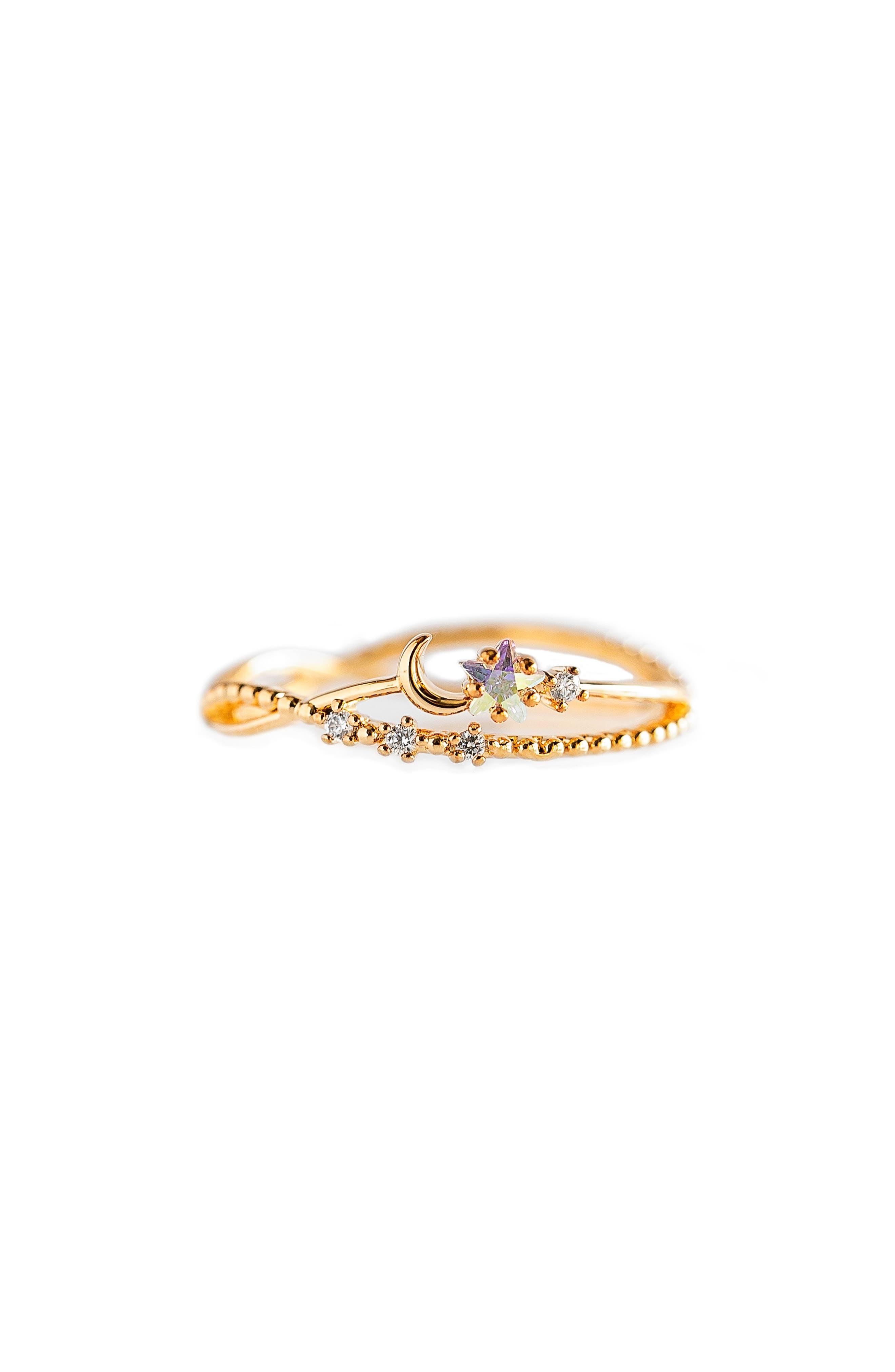 Luna Sparkle Ring