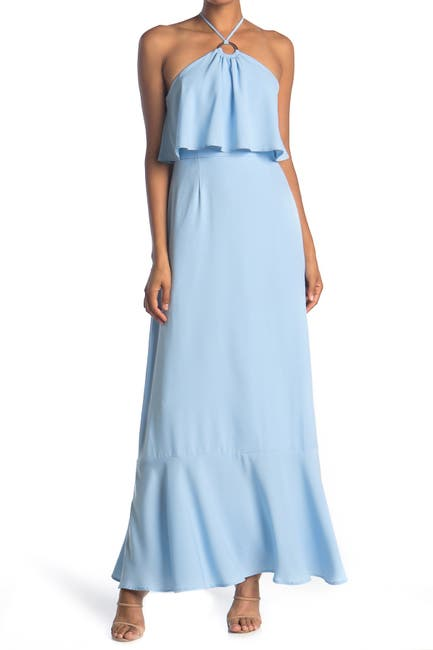 Image of Charles Henry Popover Maxi Dress