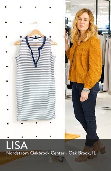 Sankaty Stripe Stretch Knit Shift Dress, sales video thumbnail