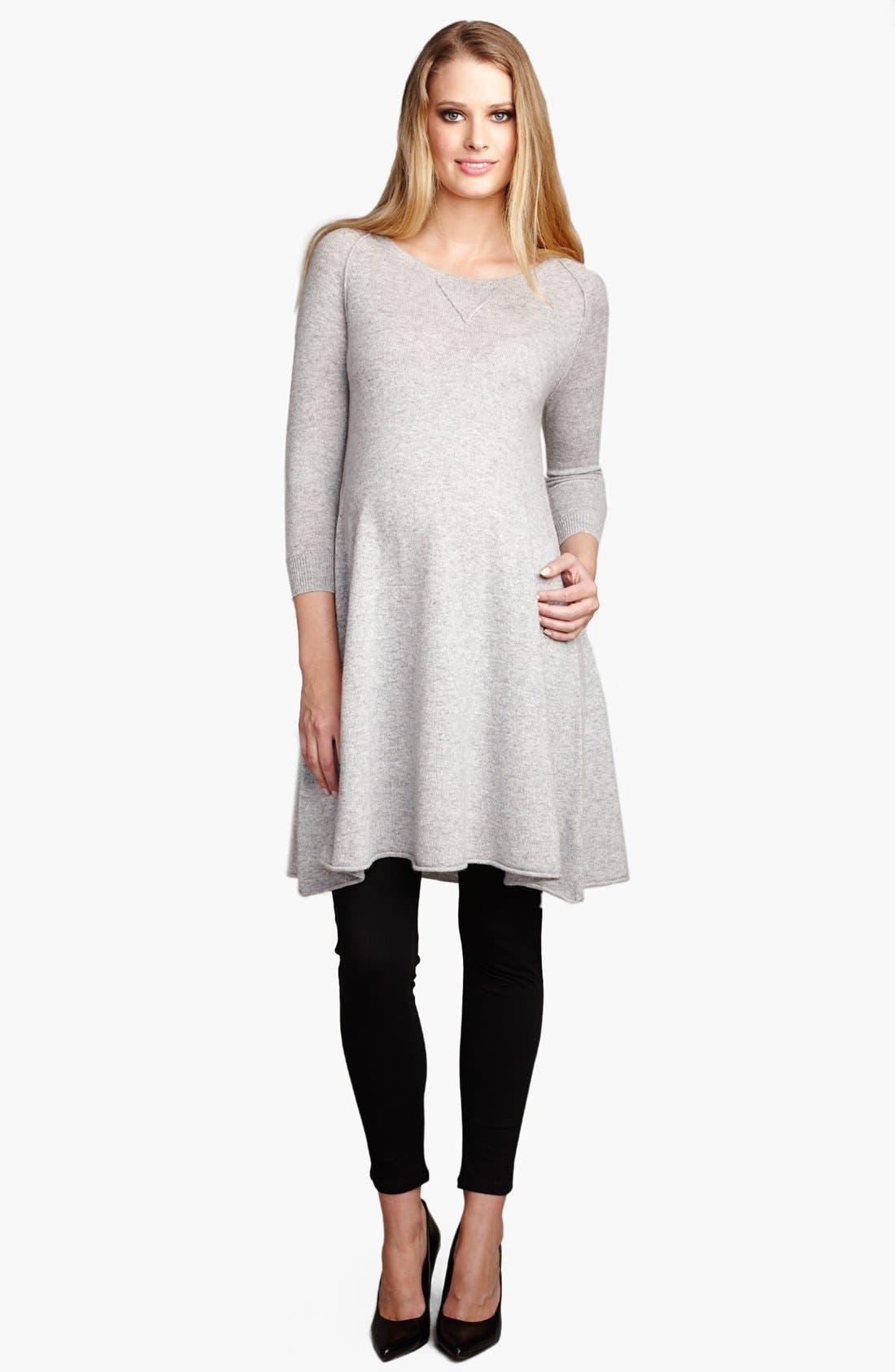 Maternal America Womens Maternity Cashmere Dress