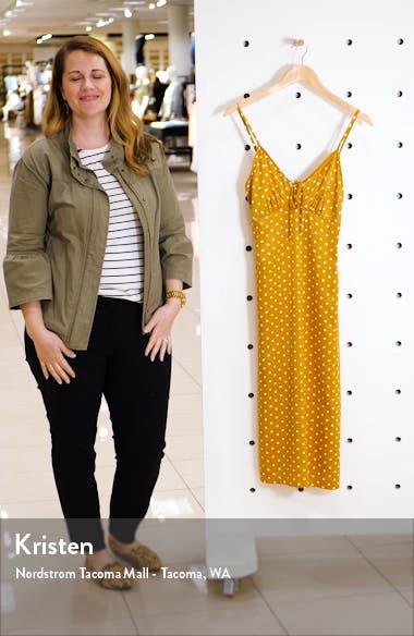 Sleeveless Satin Midi Dress, sales video thumbnail