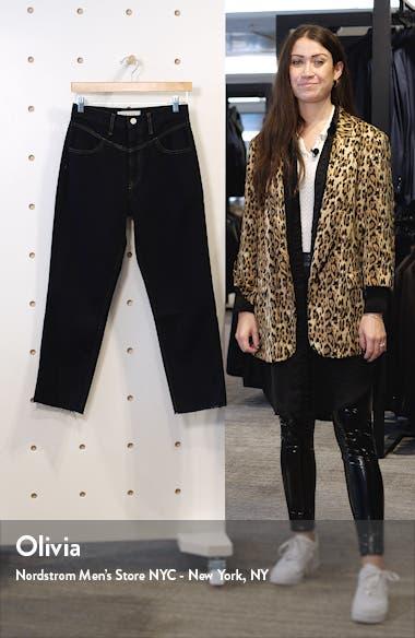Heidi Ankle Straight Leg Jeans, sales video thumbnail