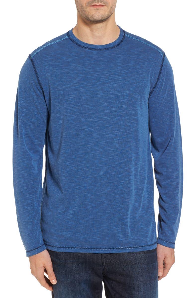 TOMMY BAHAMA Flip Tide T-shirt, Main, color, GALAXY BLU