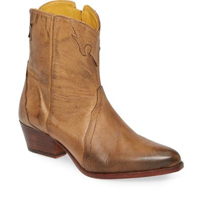 Free People New Frontier Western Bootie, Brown