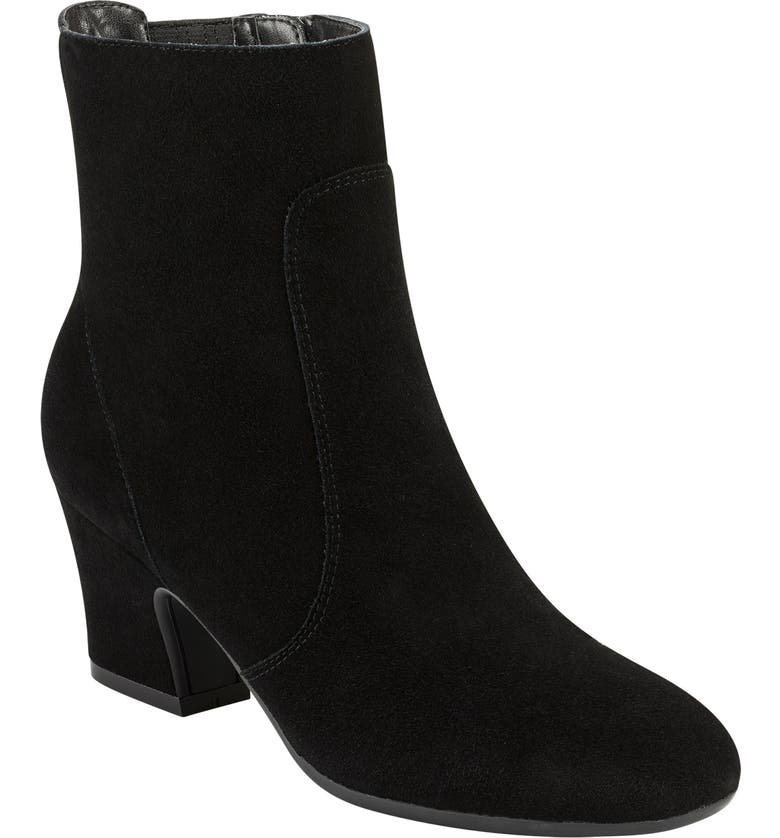 EVOLVE Camile Bootie, Main, color, BLACK SUEDE