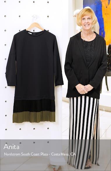 Pleated Hem Sweatshirt Dress, sales video thumbnail