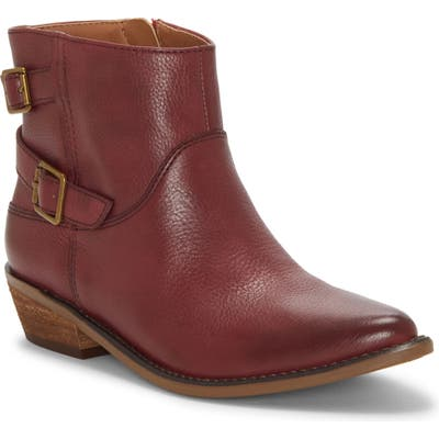 Lucky Brand Caelyn Bootie- Red