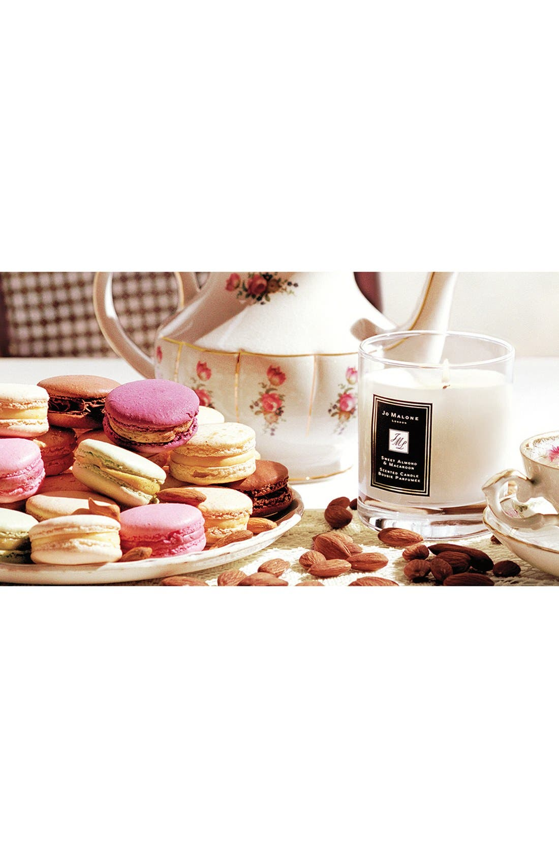 ,                             Jo Malone<sup>™</sup> Just Like Sunday - Sweet Almond & Macaroon Candle,                             Alternate thumbnail 3, color,                             NO COLOR