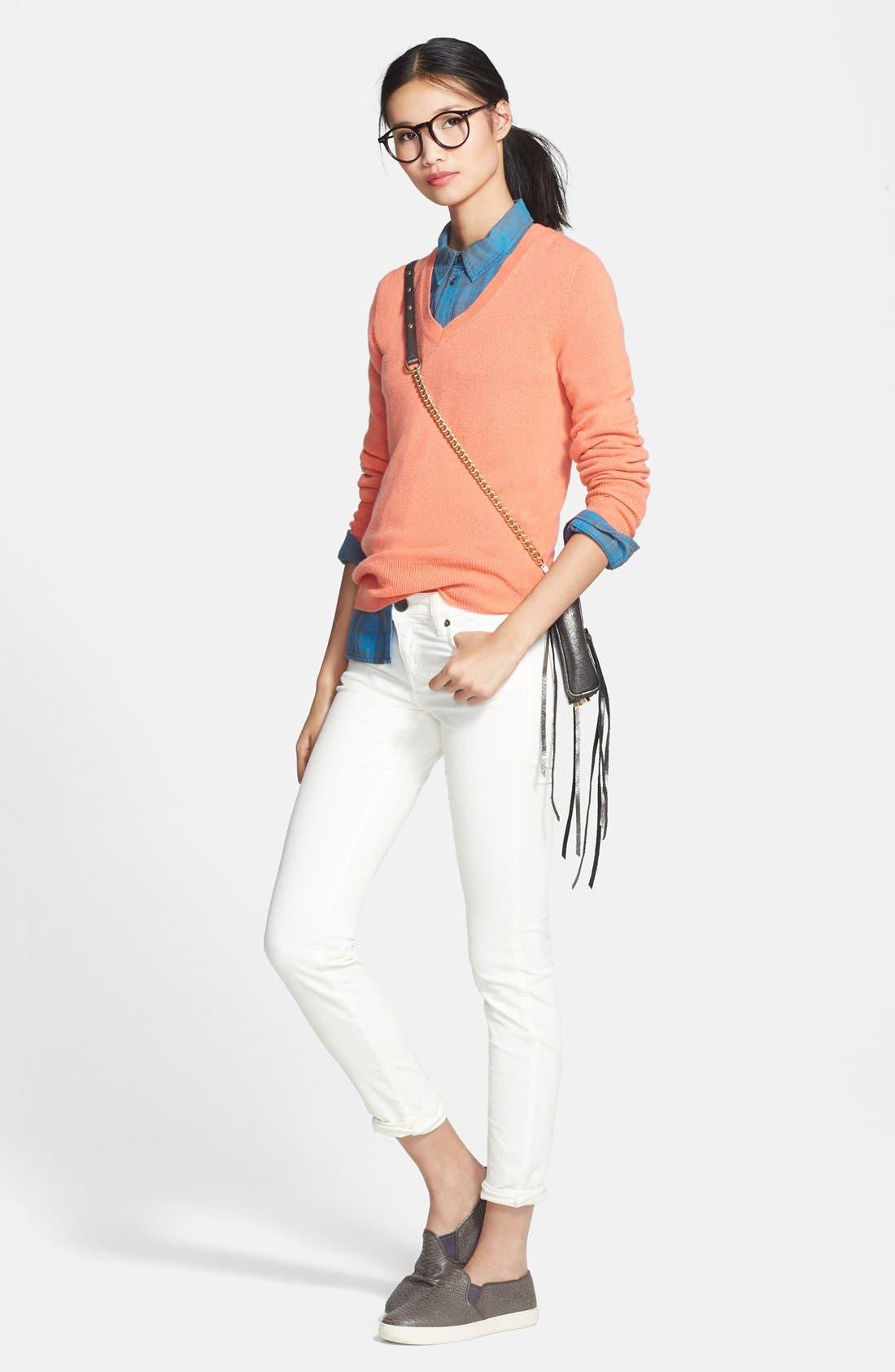 ,                             Cashmere V-Neck Sweater,                             Main thumbnail 93, color,                             950