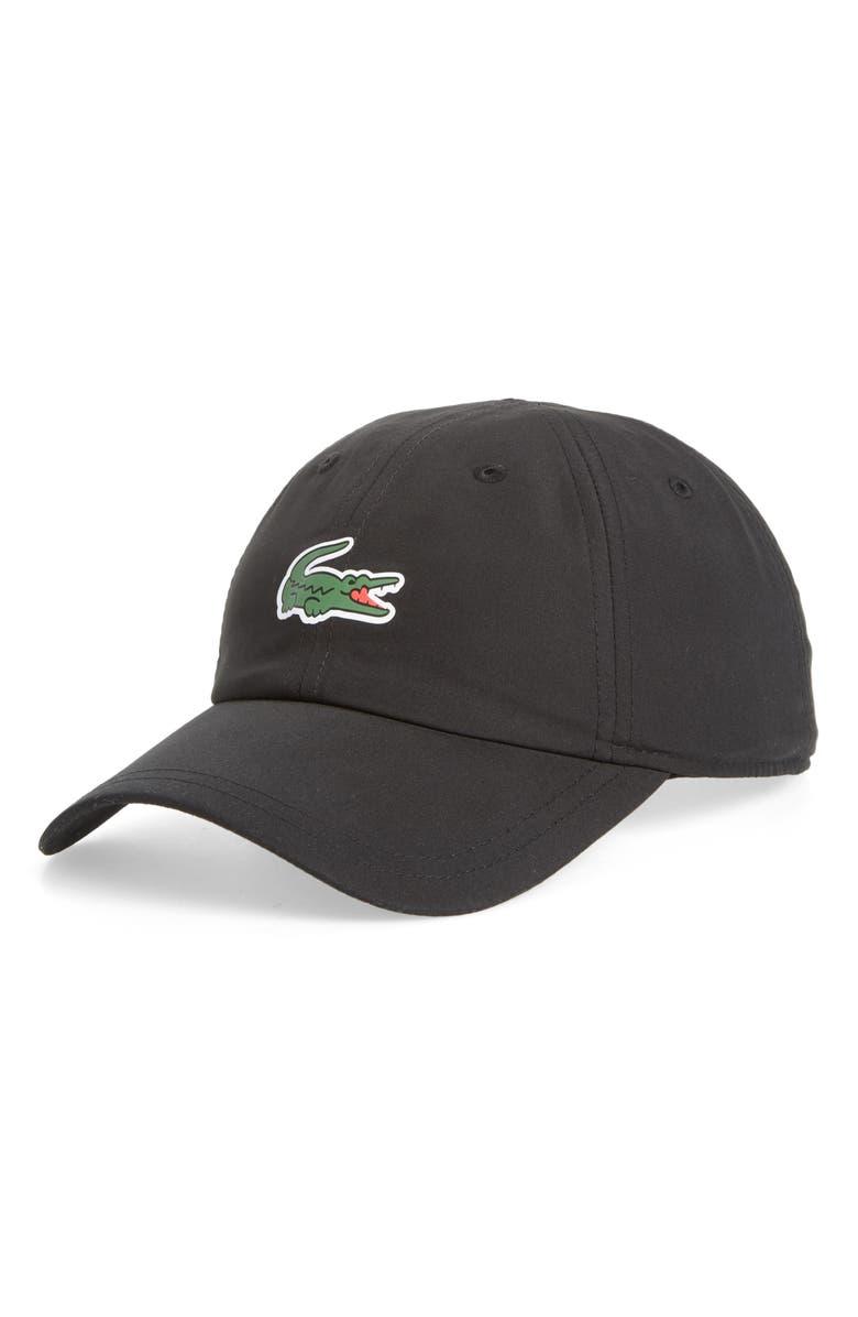 LACOSTE Sport Croc Cap, Main, color, 001