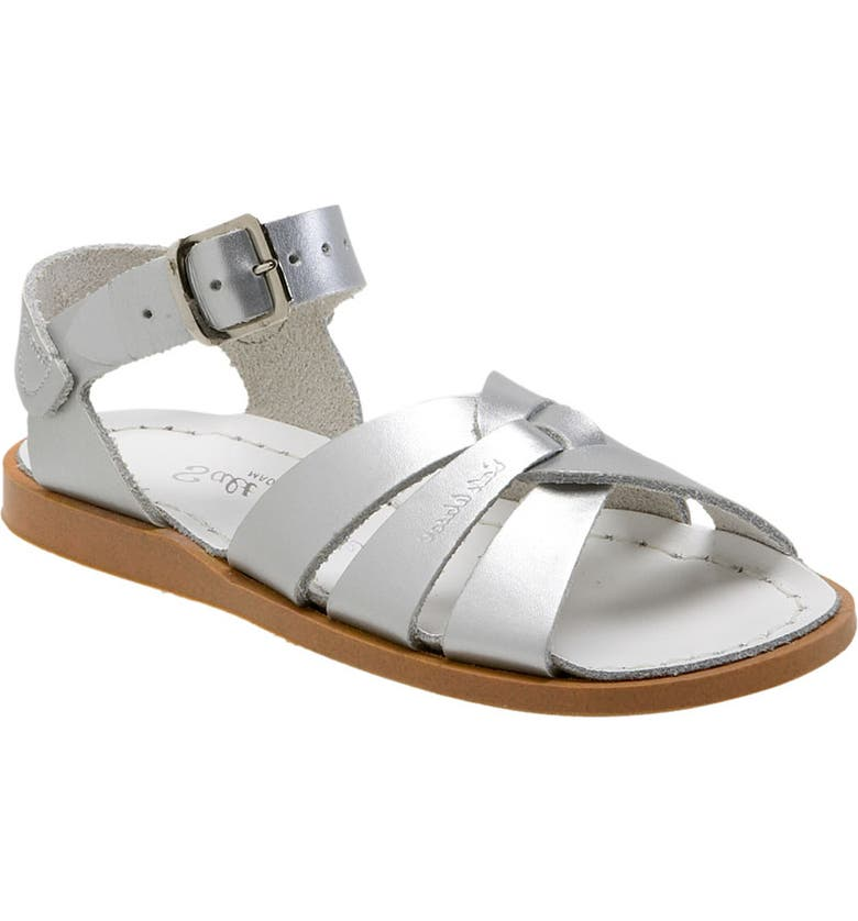 SALT WATER SANDALS BY HOY Original Sandal, Main, color, SILVER