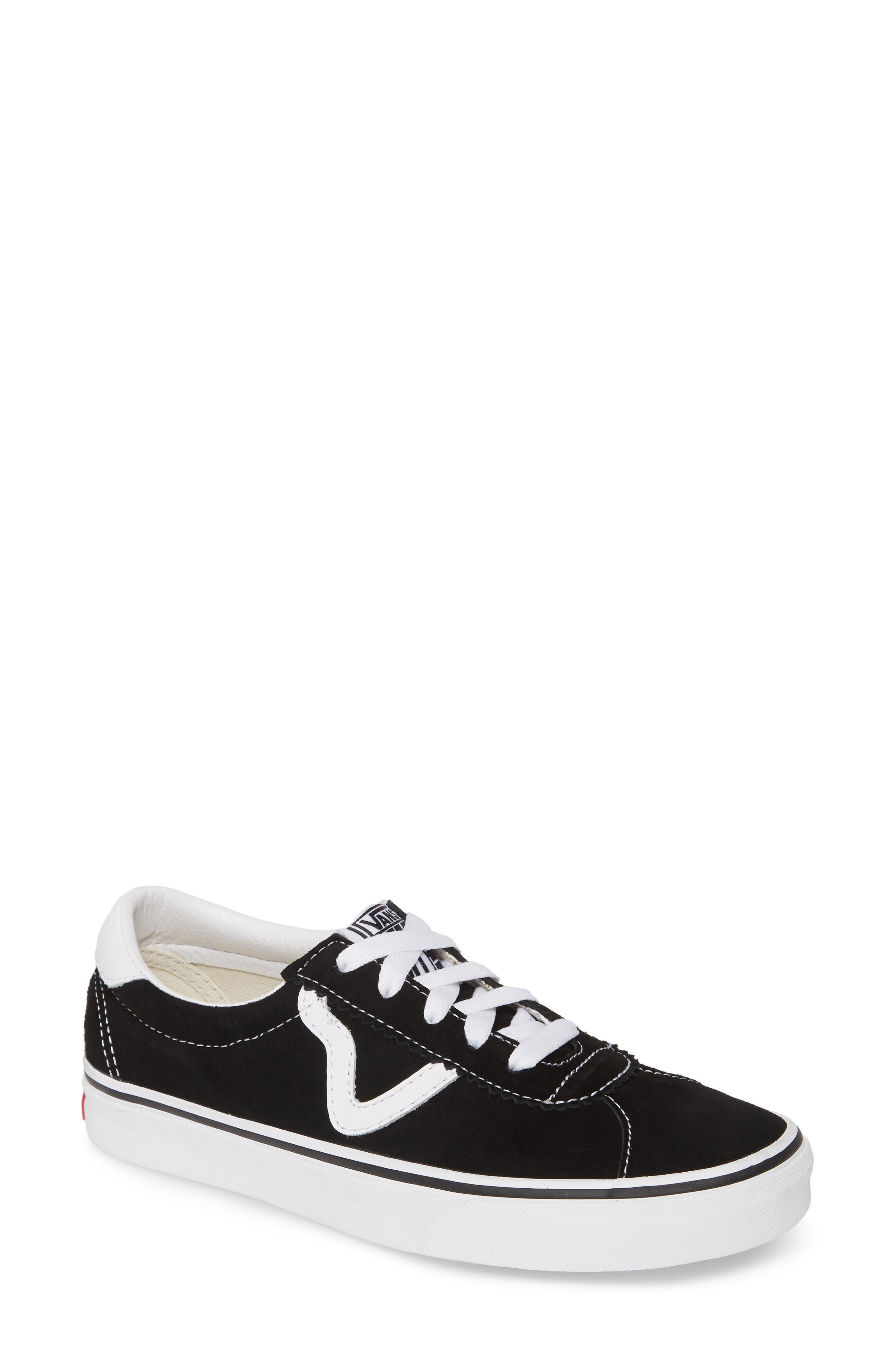 Vans Sport Low Top Sneaker- Black