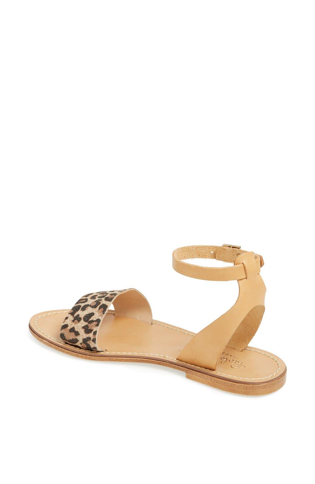 ,                             'Sardinia' Sandal,                             Alternate thumbnail 7, color,                             200