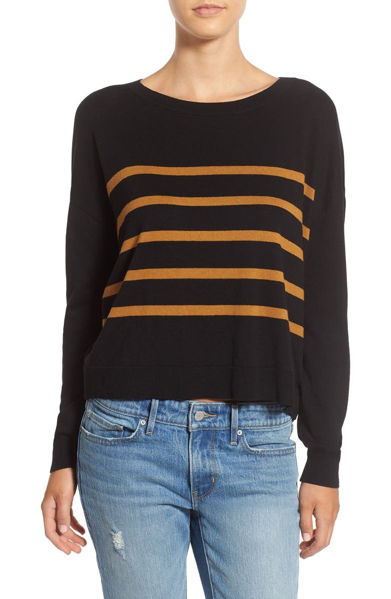 BP. Stripe Pullover, Main, color, 001