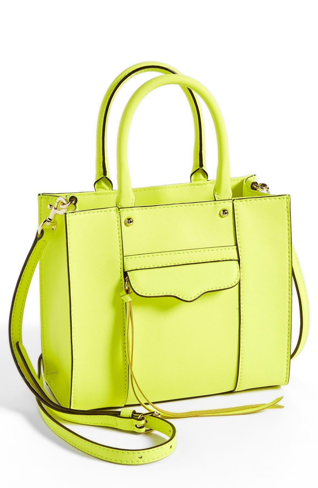 ,                             'Mini MAB Tote' Crossbody Bag,                             Main thumbnail 132, color,                             730