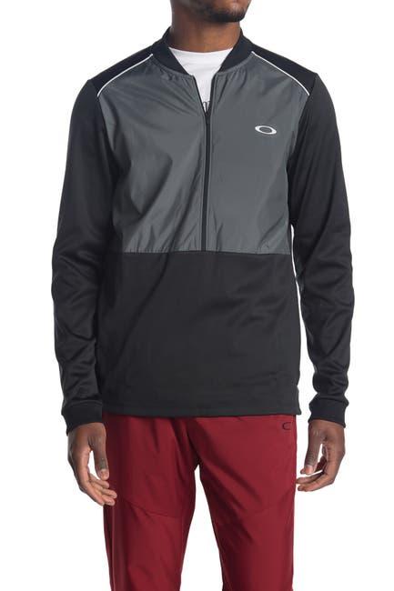 Image of Oakley Colorblock Half Zip Fleece Pullover
