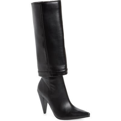 Jeffrey Campbell Sloan Pointed Toe Boot, Black
