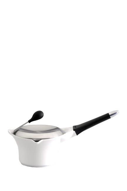 Image of BergHOFF 3qt. White Cast Aluminum Covered Stock Pot