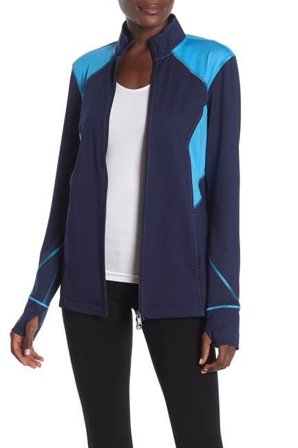 Image of N Natori Colorblock Zip Jacket