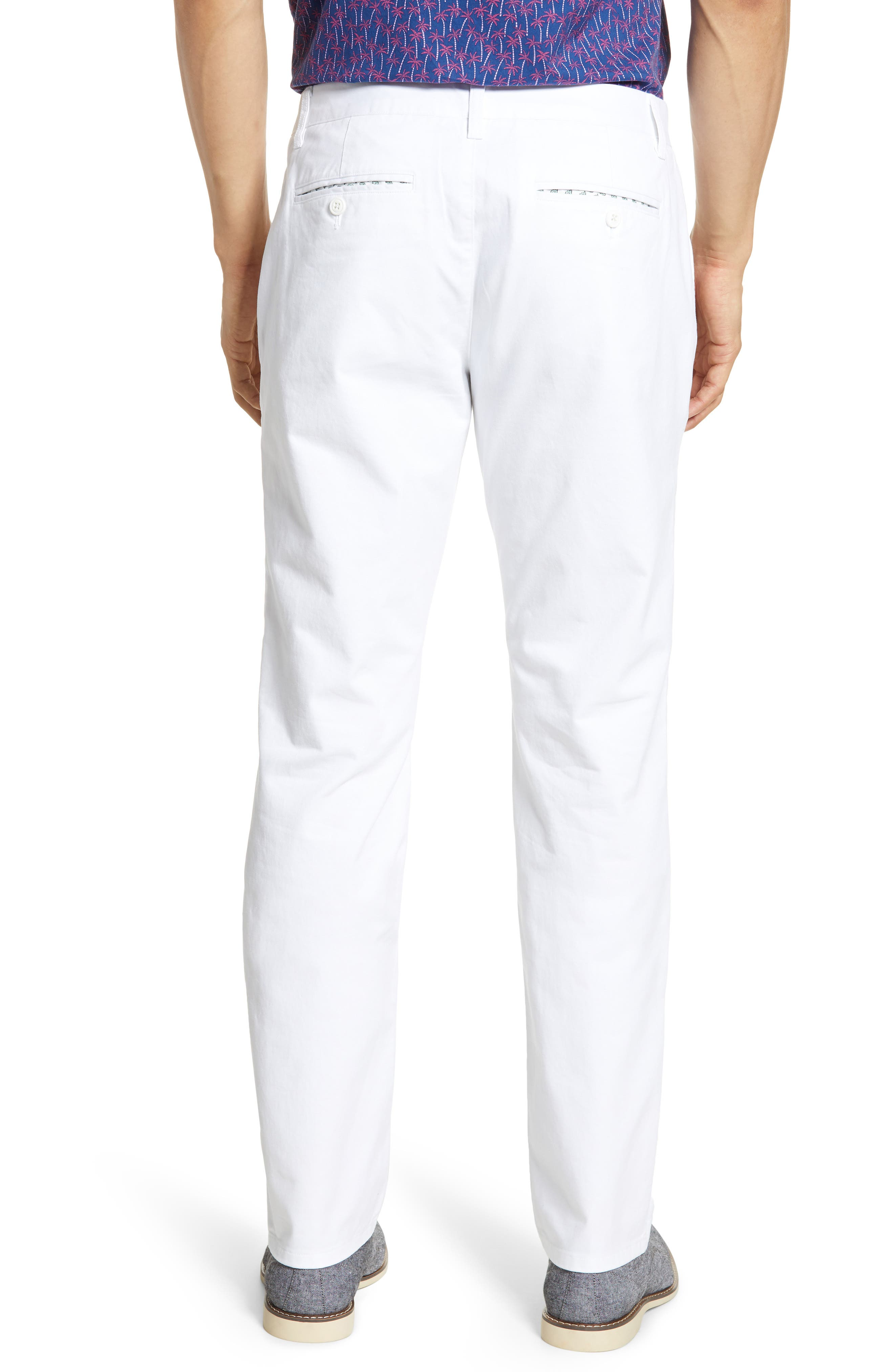 ,                             Slim Fit Stretch Washed Chinos,                             Alternate thumbnail 2, color,                             BRIGHT WHITE