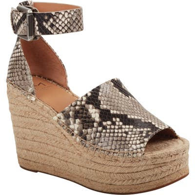 Marc Fisher Ltd Adalyn Espadrille Wedge Sandal, Grey