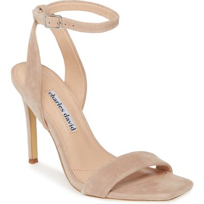 Charles David Voltage Sandal, Beige