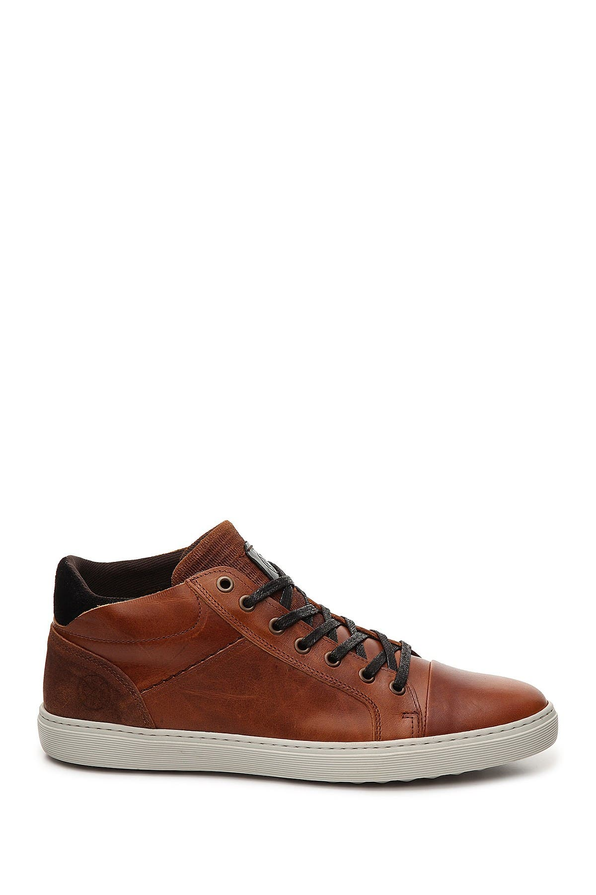 Image of Bullboxer Leather Mid Sneaker