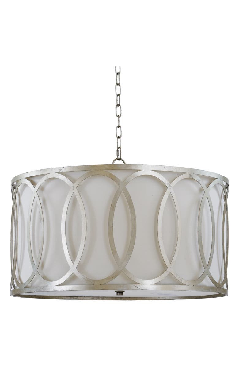 REGINA ANDREW DESIGN Fusion Chandelier, Main, color, SILVER