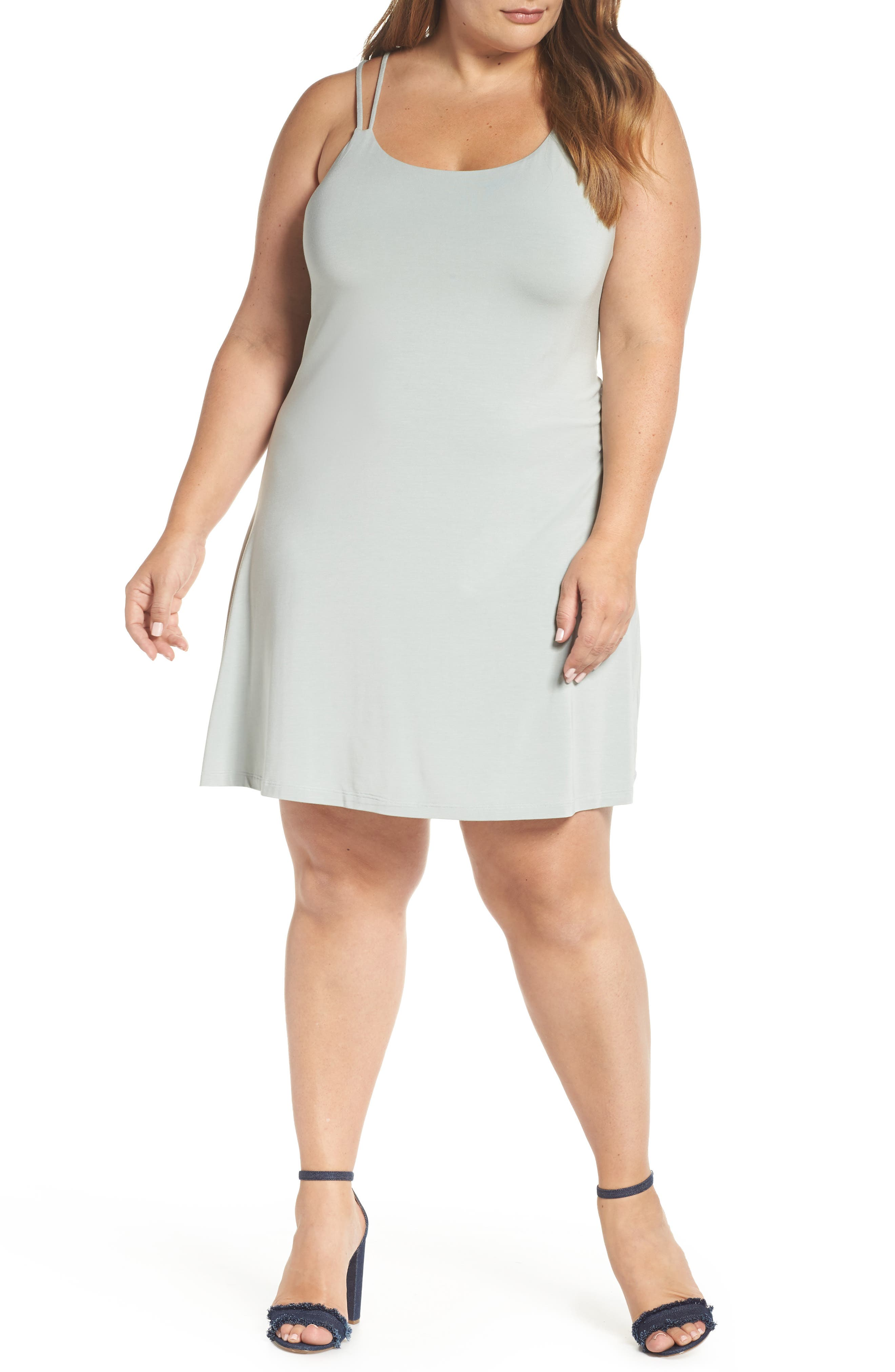 Plus Size Tart Harper Sleeveless Sheath Dress, Green
