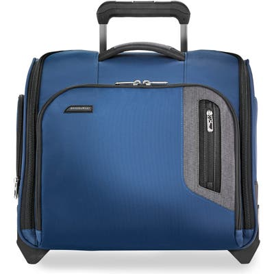 Briggs & Riley Brx Explore Wheeled Cabin Bag - Blue