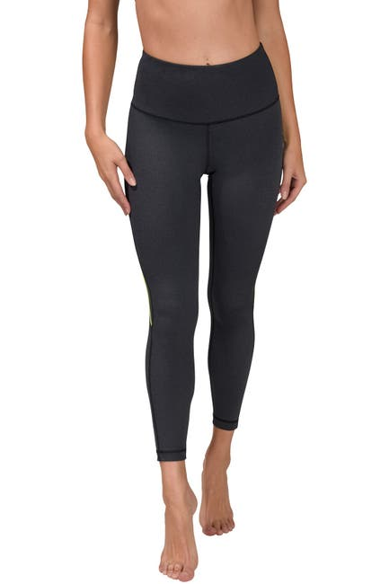 Image of 90 Degree By Reflex Interlink Back Curved Seam Ankle Leggings