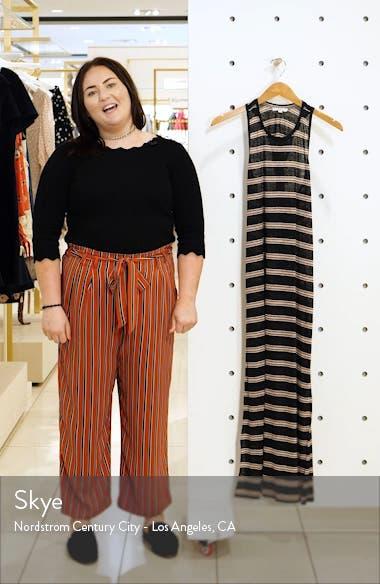 Brellen Twist Back Linen Tank Dress, sales video thumbnail