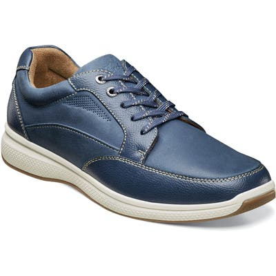 Florsheim Great Lakes Moc Toe Walking Derby, Blue
