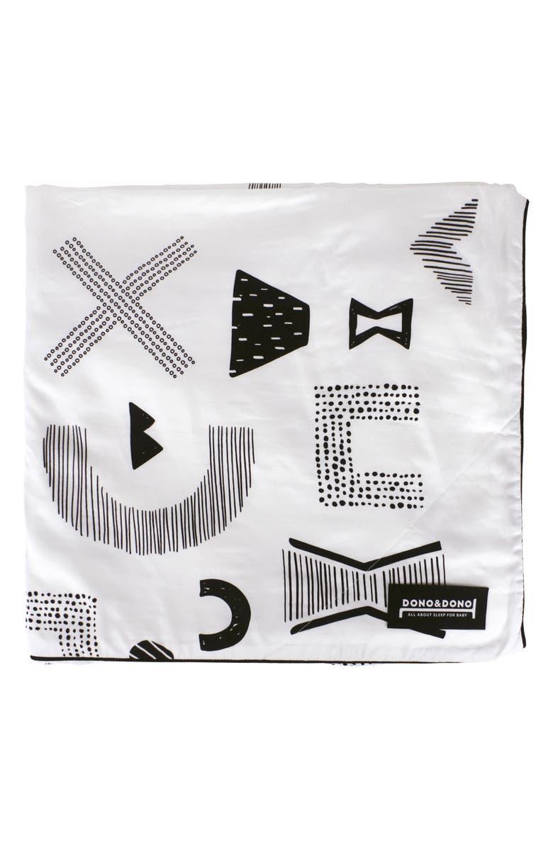 DONO & DONO Classic All Seasons Blanket, Main, color, MAZE LETTER