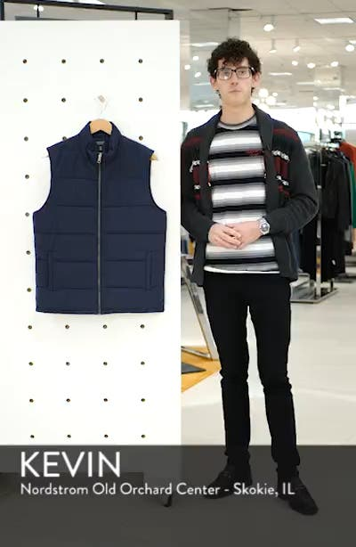 Updated Quilted Vest, sales video thumbnail