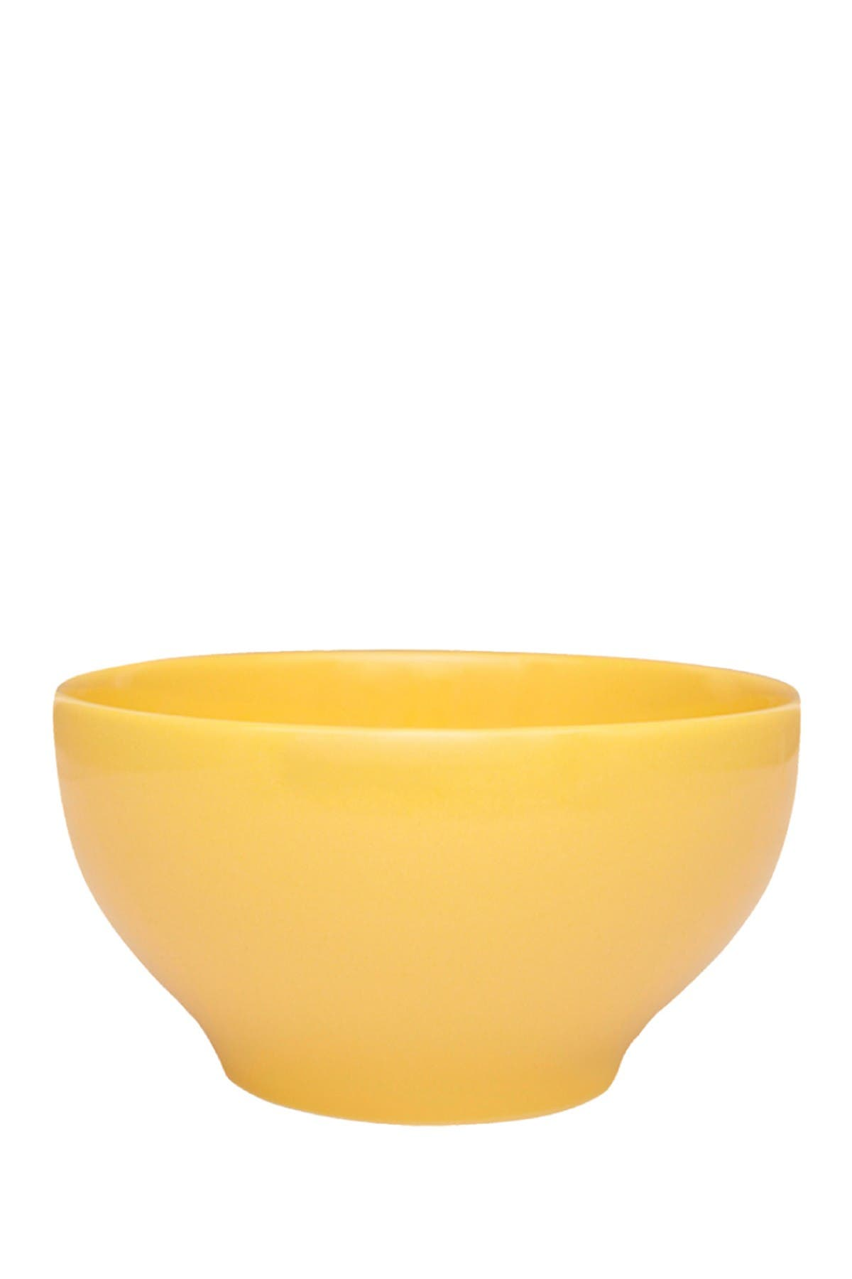 Image of Manhattan Comfort Actual 6 Large 20.29 oz. Dinner Soup Bowls - Yellow