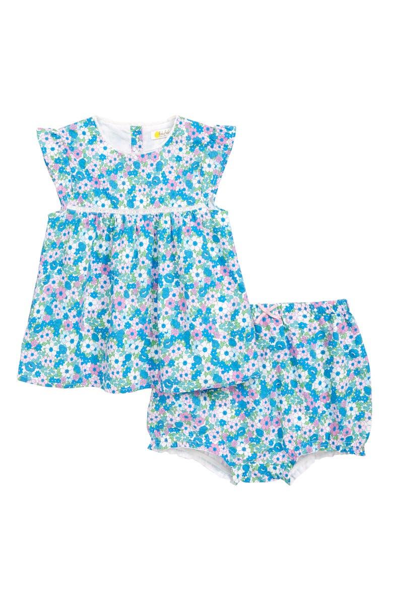 MINI BODEN Sunny Days Shirt & Shorts Set, Main, color, 586