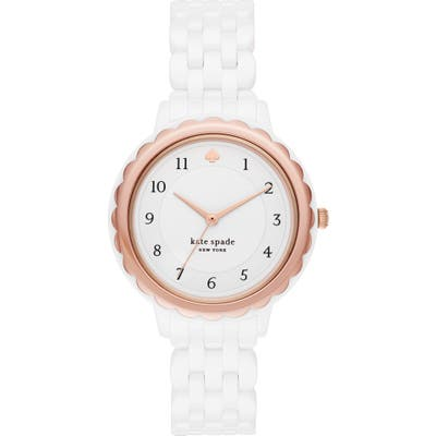 Kate Spade New York Morningside Ceramic Bracelet Watch,