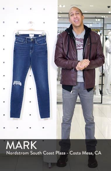 Le Skinny de Jeanne Ripped Raw Hem Ankle Jeans, sales video thumbnail