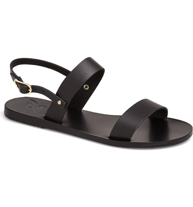 ANCIENT GREEK SANDALS 'Clio' Sandal, Main, color, 001