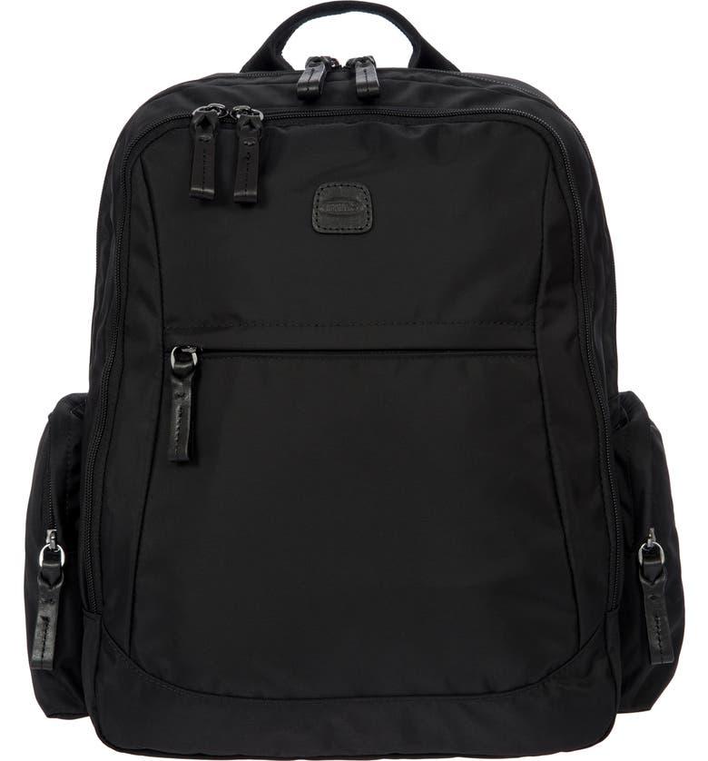 BRIC'S X-Travel Nomad Backpack, Main, color, BLACK/ BLACK
