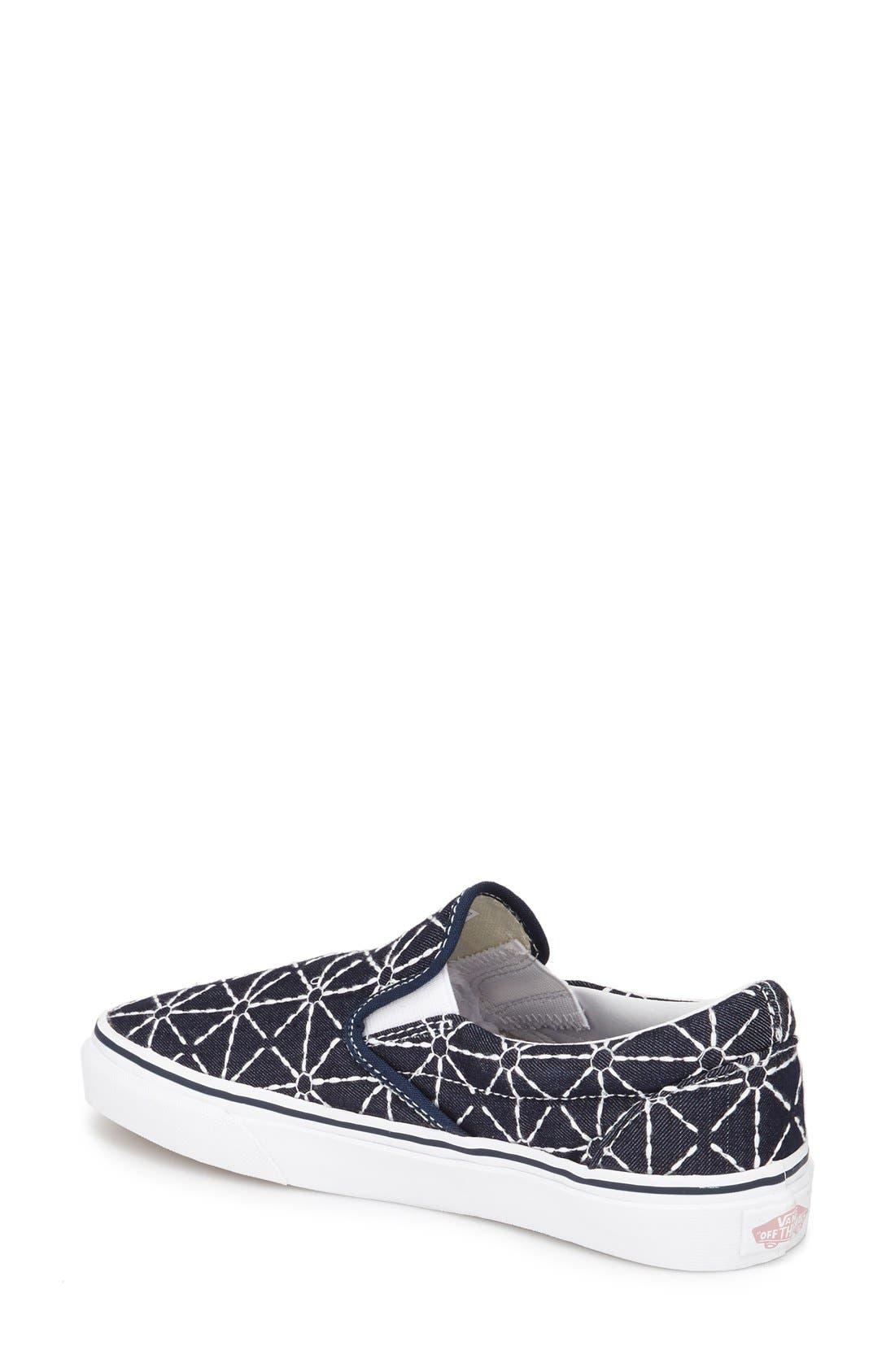 ,                             Classic Slip-On Sneaker,                             Alternate thumbnail 367, color,                             421