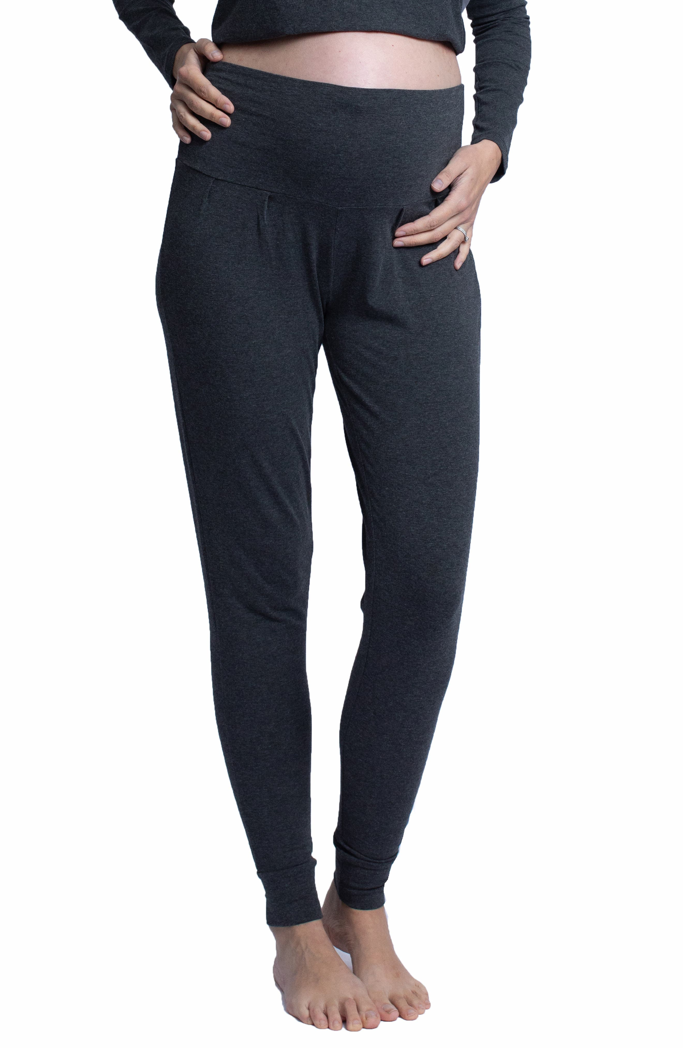 Women's Angel Maternity Tapered Knit Maternity Pants