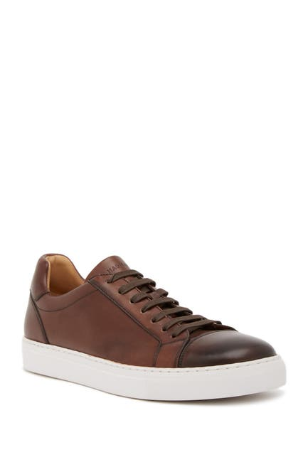 Image of Magnanni Cuervo Leather Sneaker