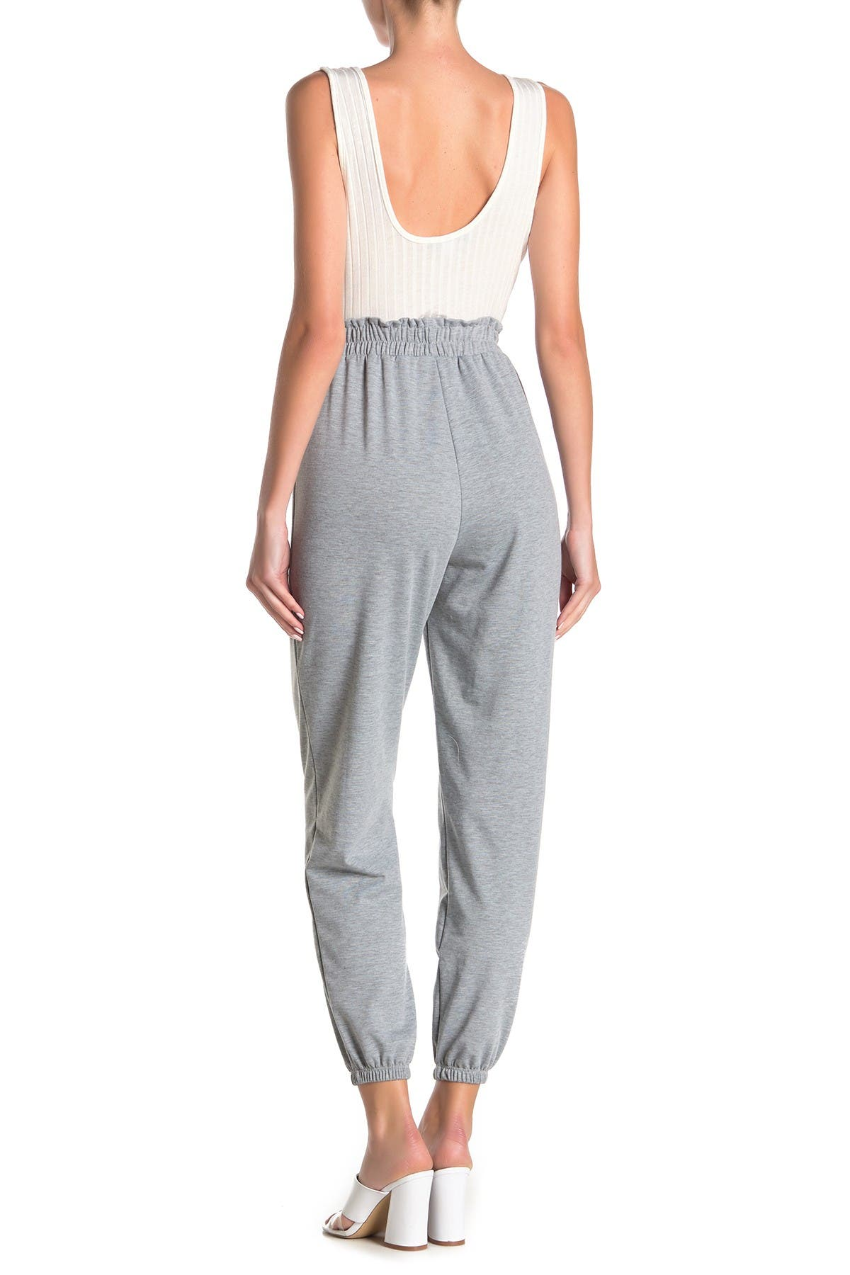 Image of Vanity Room Tank French Terry Combo Jumpsuit
